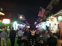 Too many Hand Grenades on Bourbon Street had me seeing visions of the dead!