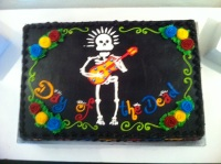 MLR's Day of the Dead Celebration Cake