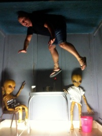 Aliens messing with me in Roswell
