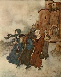 The Wind's Tale illustrated by Edmund Dulac