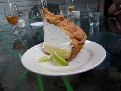 blue heaven key lime pie via flickr
