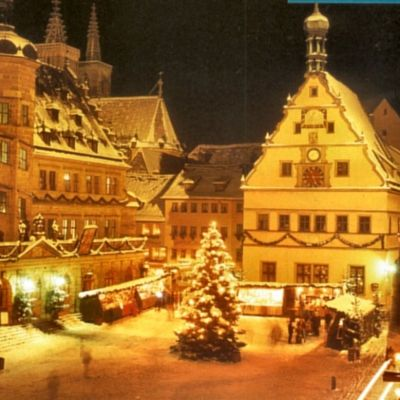 christmas market rothenburg
