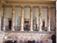 Holkham Marble Hall niches
