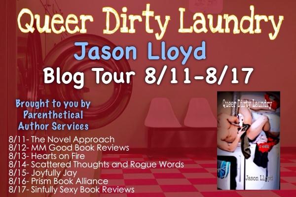 Jason Lloyd QDL Blog Tour Banner