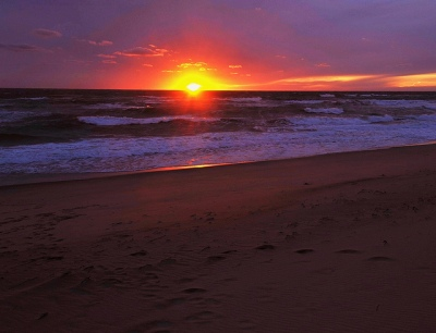 sunset at madaket beach via flickr