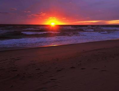 sunset at madaket beach via flickr