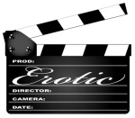Erotic Movie Clapperboard