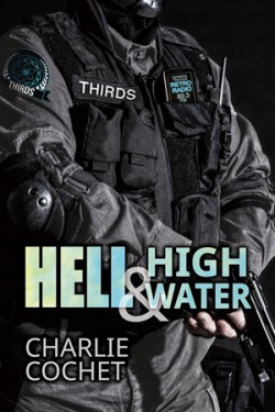 The THIRDS series by Charlie Cochet Not to outdo herself (but she did), Charlie's THIRDS series is a wonderful mash up of elite police force and various shifter breeds, all spun up with a huge sense of humor.  This is male/male romance.