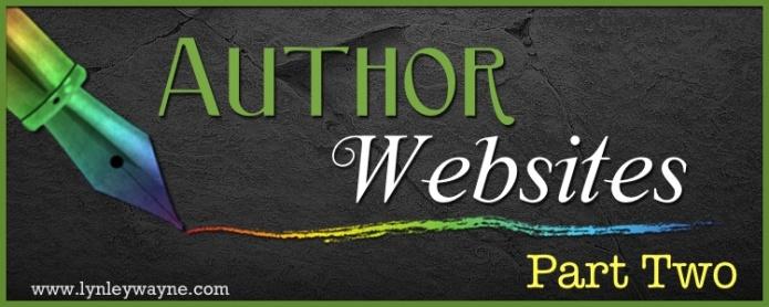Author Wesbite pt2
