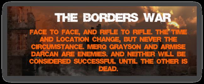 Borders War Banner